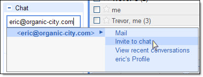 Gmail chat